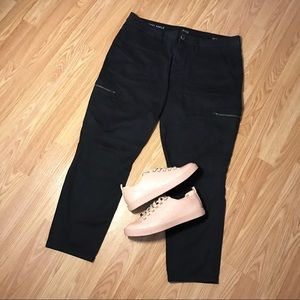 Used A.N.A Skinny Ankle Black Jeans Women's Sz 14